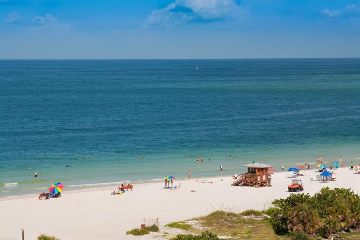 Lido,Beach,,On,Siesta,Key,,Sarasota,,Florida